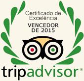 Certificado de Excelência Restaurante Couve Flor